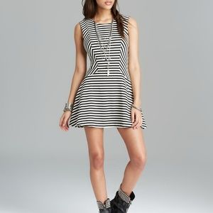Free People black and white skater dress
